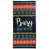 "Плажна кърпа Alfreco ""Busy doing nothing"""