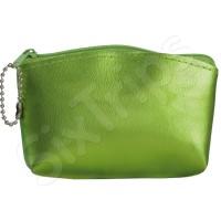 Дамски мини несесер-портмоне в свеж зелен цвят