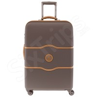 Куфар в цвят шоколад 67см. Delsey Chatelet