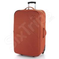 Голям куфар с две колела WiFI в тъмно оранжево