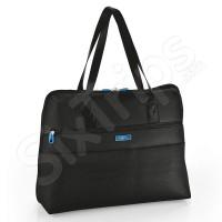 Чанта Artic в черно с преден джоб с цип