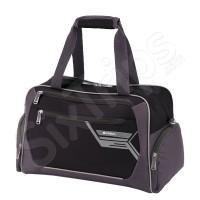 Пътна чанта Lumen в черно и сиво 45см.