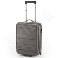 Сив куфар с отделение за лаптоп Gabol Route 55см