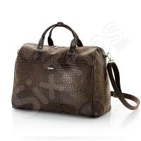 Стилна кафява пътна чанта Cobalt 50см.