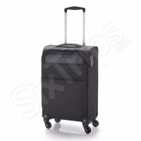Олекотен черен куфар 55см Gabol Cloud