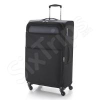 Лек черен куфар на четири колела Gabol Cloud