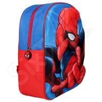 "3D раница в червено и синьо ""Spiderman"""