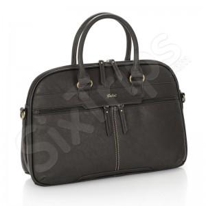 """Сива бизнес чанта Tribune 15.6"""" - еко кожа"""