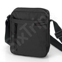 Мъжка чанта за рамо с едно отделение и два джоба
