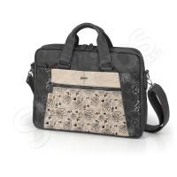 "Дамска чанта за лаптоп Madeira 15.6"" - кафява"
