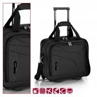 Пътна чанта на колела GABOL 40 см. черна - Week 10051901