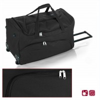 Пътна чанта на колела GABOL 60 см. черна - Week 10054601