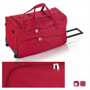 Червена пътна чанта на колела Gabol 66см.