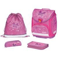 Комплект с раница за момиче Sporti Plus Butterfly