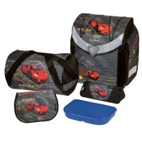 Комплект с ергономична раница за момче Red Racer