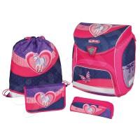 Комплект Sporti Plus Glitter - синьо и розово
