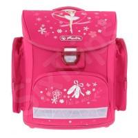 Розова училищна раница Herlitz Midi Ballerina