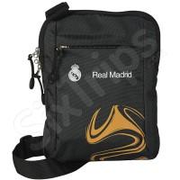 Мъжка черна чанта за рамо RM-20 FC Real Madrid