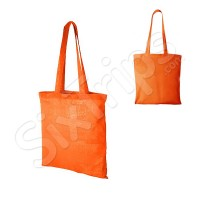 Оранжева чанта за пазар Carolina