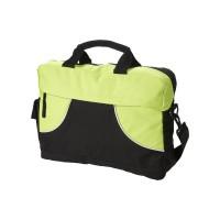 Чанта Chicago зелено-черна