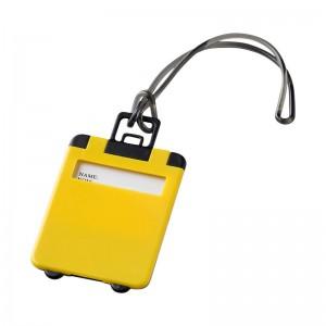 Жълт етикет за багаж Taggy