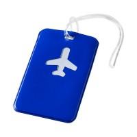 Етикет за багаж Voyage син