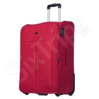 Голям куфар Puccini Latina в стилен червен цвят