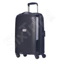 Малък твърд чeрeн куфар за ръчен багаж Puccini Havana