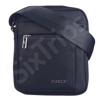 Изискана черна чанта за през рамо Puccini 20см