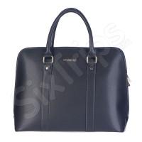 Чанта в класически елегантен стил Puccini, черна