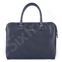 Изискана черна дамска чанта с класически вид Puccini