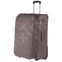 Голям куфар в стилен сив цвят Puccini Camerino, 90л