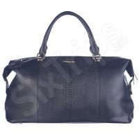 Модерна голяма всекидневна чанта 50см Puccini, черна