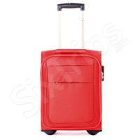 Червен куфар за пътуване с Wizz Air Puccini Camerino