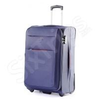 Текстилен куфар в синьо Puccini Camerino 68л