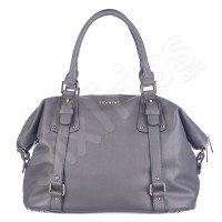 Чанта в стилен сив цвят Puccini