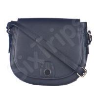 Модерна черна дамска чанта за през рамо Puccini