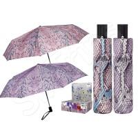 Чадър змийска кожа - розов, лилав