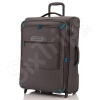 Куфар в цвят антрацид Travelite CrossLite M 65см