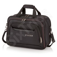 Черна чанта за пътуване Travelite Kendolite, 43см