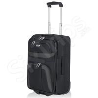 Малък черен куфар Travelite Orlando 46см