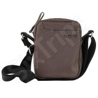 Сива мъжка чанта за рамо Bugatti Jason