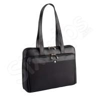 """Стилна черна дамска чанта за лаптоп Wenger Rhea 15.4"""""""